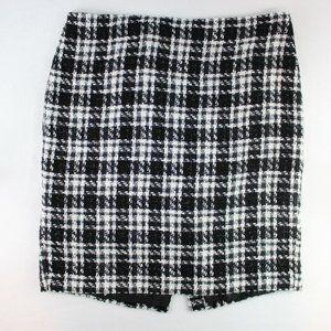 Ann Taylor Factory Tweed Pencil Skirt Women's 16